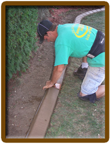 Concrete Curbing Borders Landscaping Albany Bethlehem Saratoga Springs Clifton Park